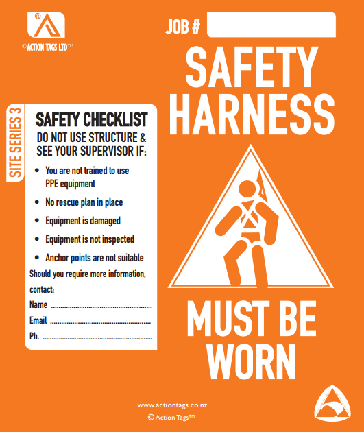 Safety Harness (Pack of 25)