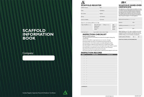 Scaffold Information Book