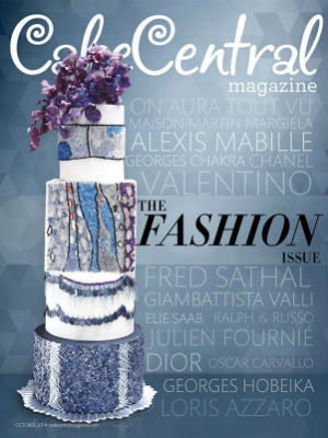 Cake Central, Fall 2014, Cover, Cake stand