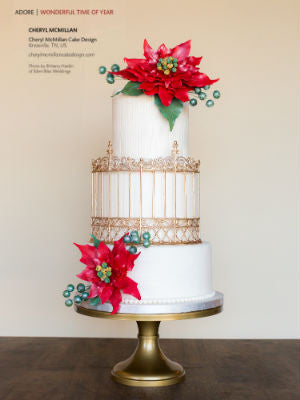 Cake Central Mag, Nov/Dec 2015, Interior, cake stand