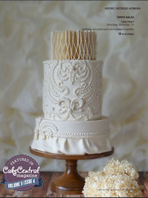 Cake Central, fall 2014, Interior, cake stand