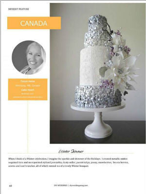 DIY weddings, Winter 2014, interior, cake stand