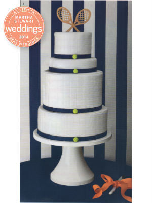 Martha Stewart Wedding, Spring 2014, Interior, Cake stand