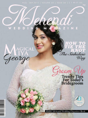 Mehendi Wedding Mag, cover, cake stand
