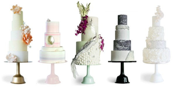 Wedding Bell Cake Stands Get CAKED