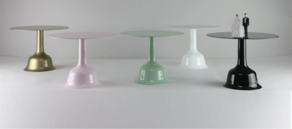 Mrs. Bell Presents The New Wedding Bell Cake Stands