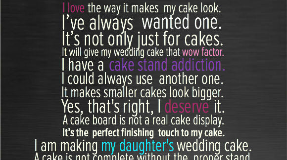 30 Reasons Why You Need a Wedding Cake Stand