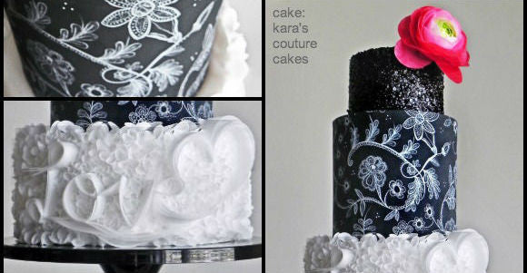 Kara's Couture Cakes puts on a Black Tie Affair