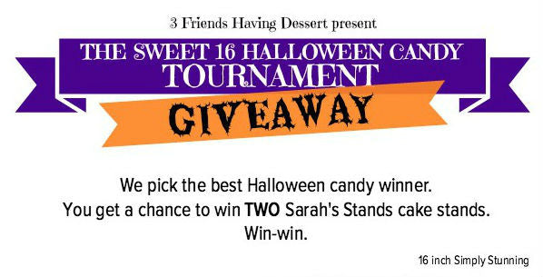 GIVEAWAY: Win 2 Sarah's Stands Cake Stands