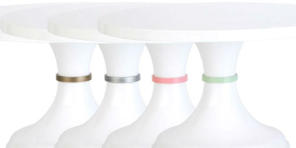 NEW CAKE STANDS: KISS OF COLOR