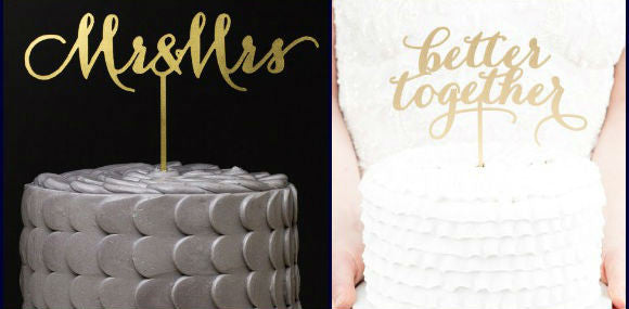 Giveaway #2: Wedding Cake Topper