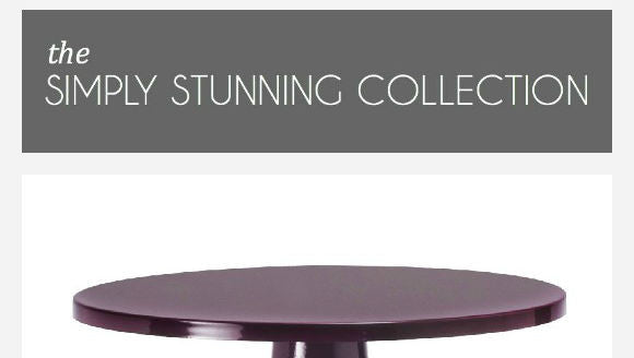 GIVEAWAY # 1 : Simply Stunning Cake Stand