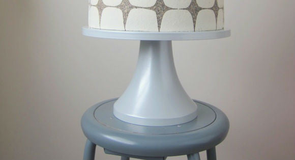 A Modern Classic: The Silver Cake Stand