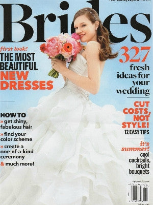 Brides, July 2012, Cover, cake stands