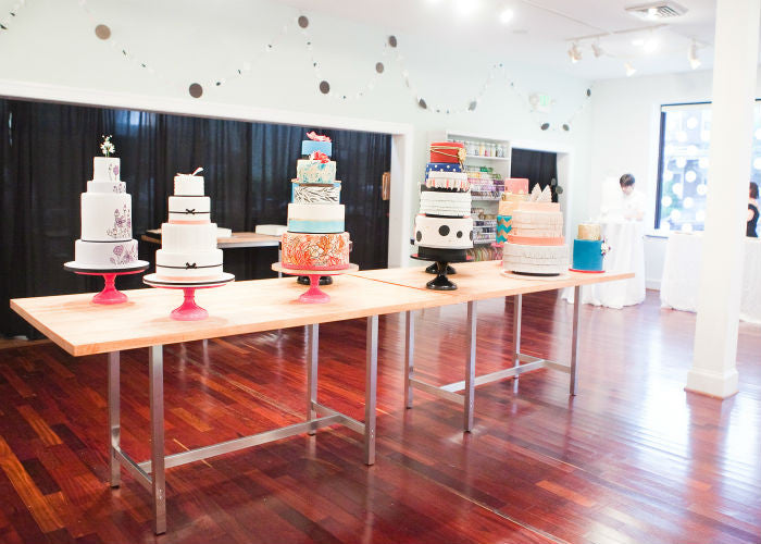 Collection of Cake from Charm City Cakes on my Cake Stands