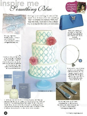 Contemporary Bride Spring 2012 - interior - cake stands