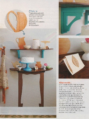 DIY mag, Fall 2012, Interior, cake stand