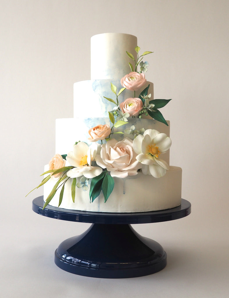 Best Navy Wedding Cake Stand
