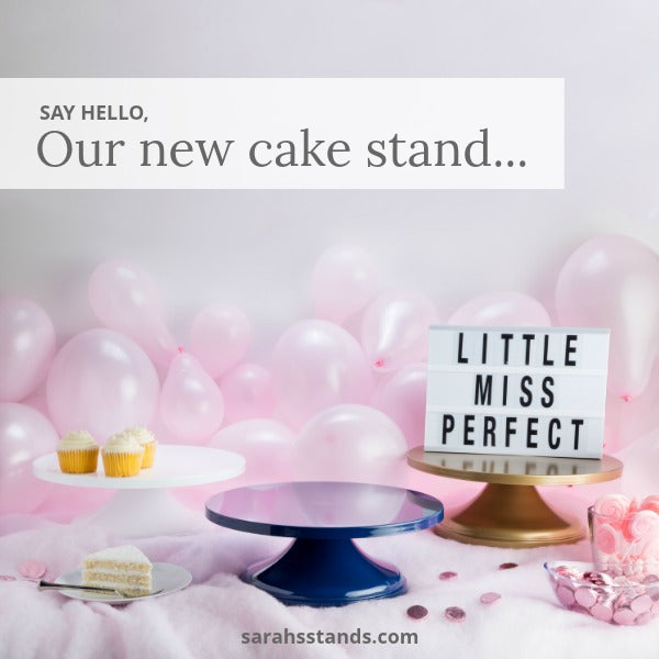 Little Miss Perfect Cake Stands