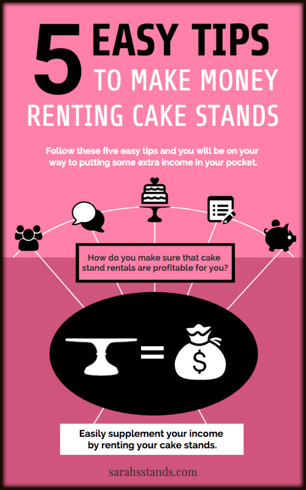 Cake Stand Rental Tips Sarahs Stands