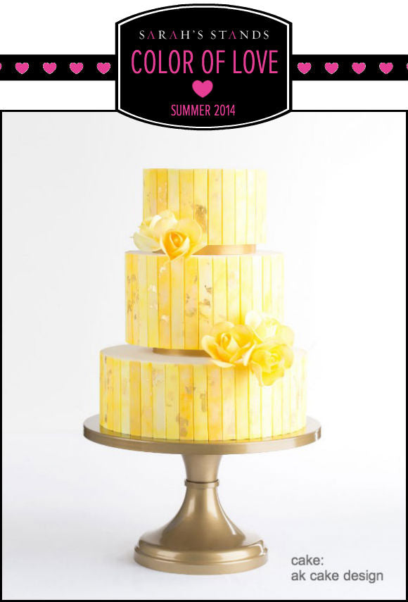 Gold Wedding Cake Stand.