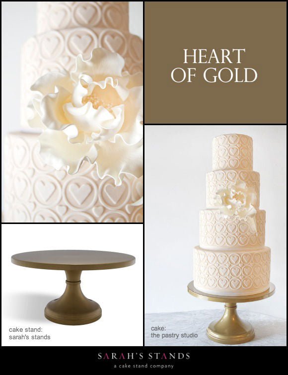 Gold Wedding Cake Stands.