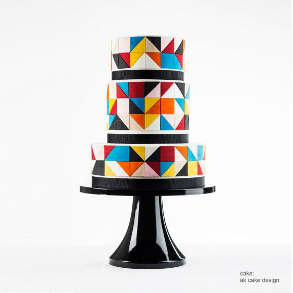 Black Tie Affair Cake Stand.