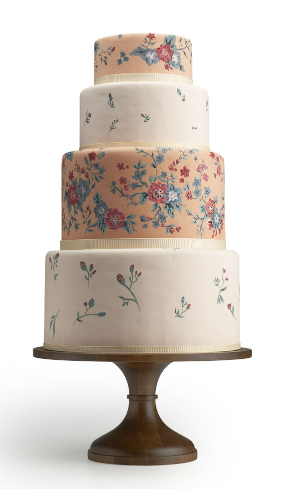 Charm City Cakes + Wood Cake Stand.