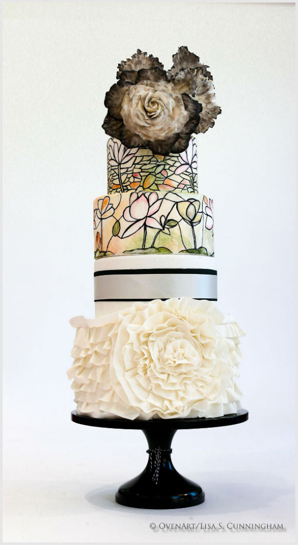 Couture Wedding Cake Stand.