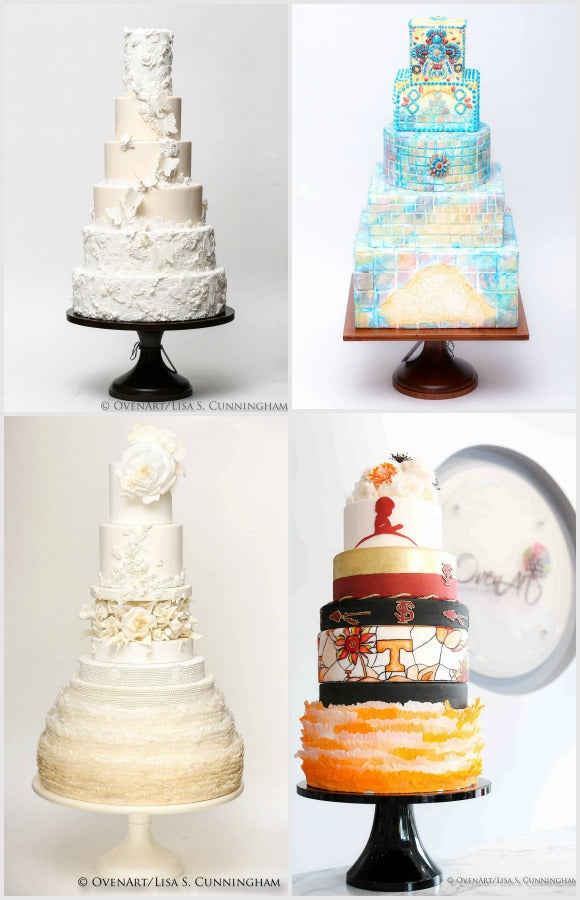 Couture Wedding Cake Stands.