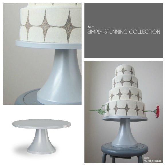 Shimmering Lights Cake Stand by Sarah's Stands.