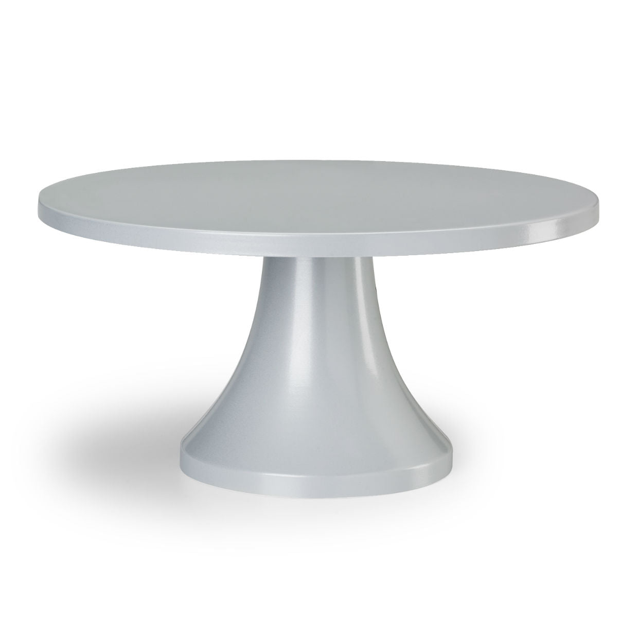 Silver Modern Cake Stand.