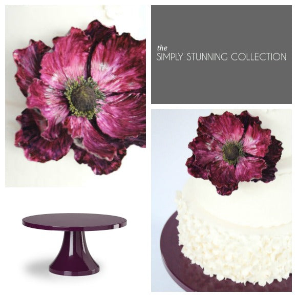 Simply Stunning Collection by Sarah's Stands Purple.