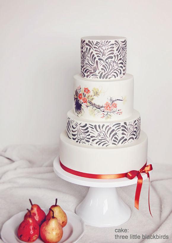 White Wedding Cake Stand.