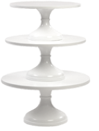 White Cake Stands | Sarah's  Stands