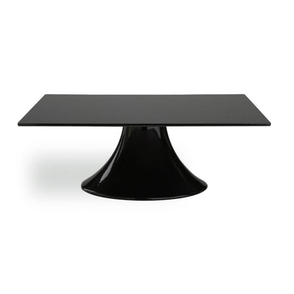 Black Square Wedding Cake Stand