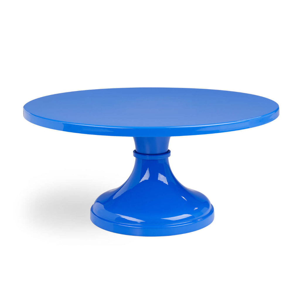 Blue Wedding Cake Stands