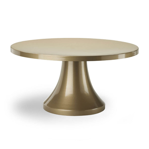 gold modern cake stand