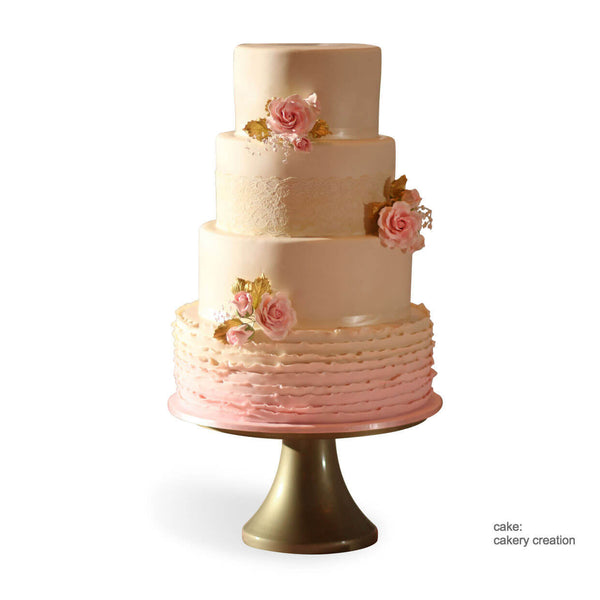 heart wedding cake stand of gold wedding cake stands s stands 15184