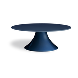 Navy Blue Round Wedding Cake Stand