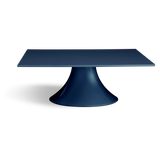 Navy Blue Square Wedding Cake Stand
