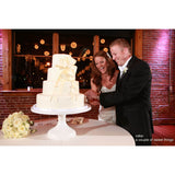 Large White Wedding Cake Stand