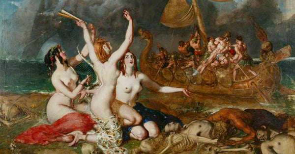 The Muses and the Sirens: A Lesson in Hubris