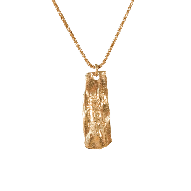 Eternal Secret Gold Talisman Necklace - COMMON ERA