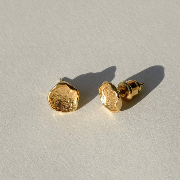 Icarus Molten Gold Studs - COMMON ERA