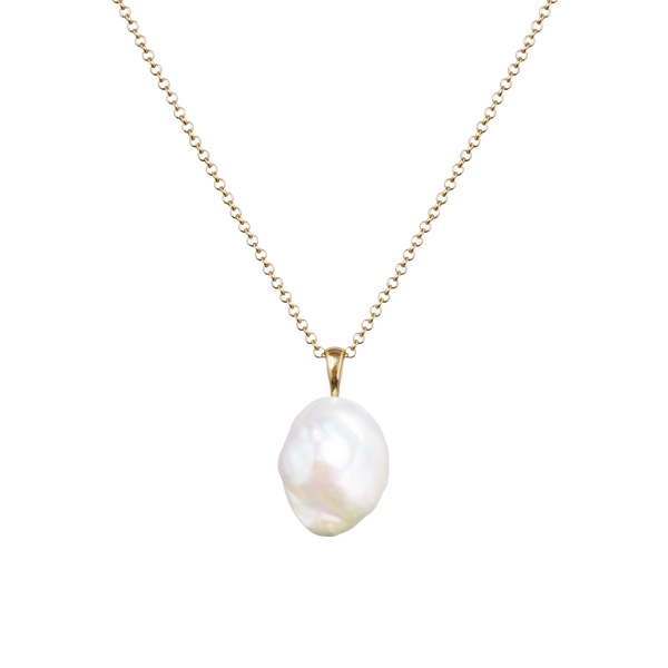 Baroque Keshi Pearl Necklace - COMMON ERA