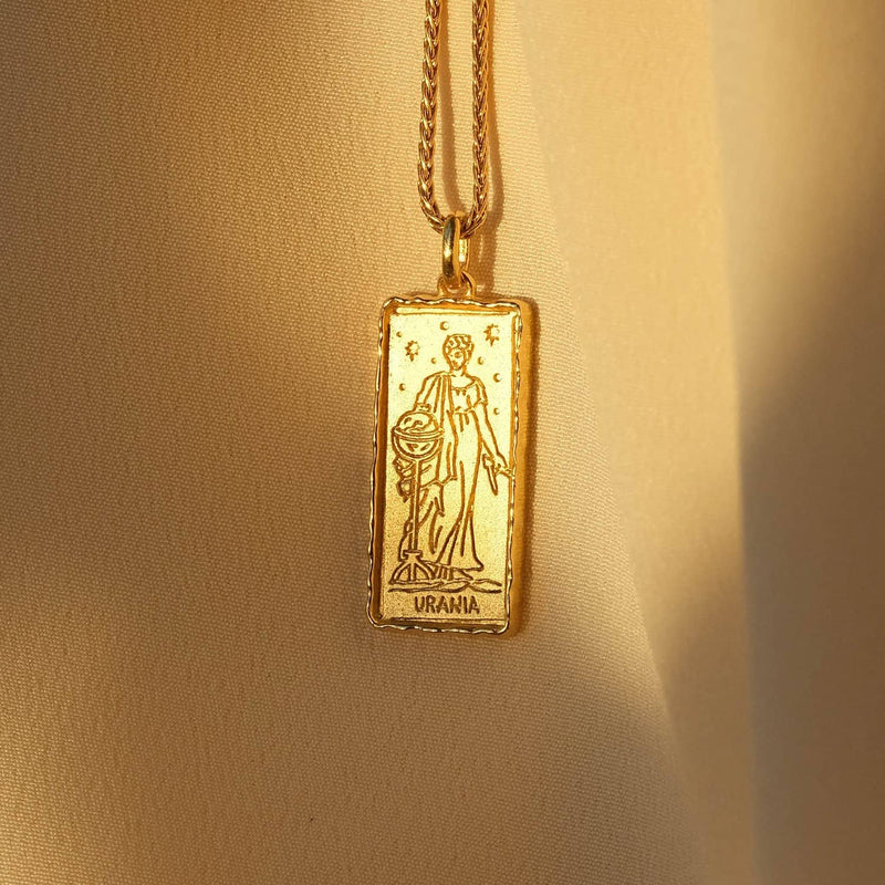Urania Muse of Astronomy Necklace - COMMON ERA
