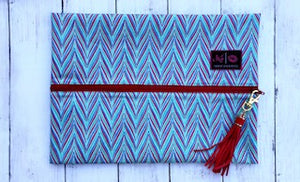 FUNKY CHEVRON TURNKEY BAG - LARGE