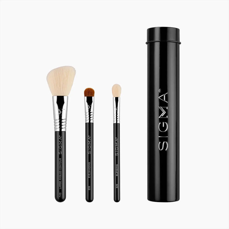 SIGMA ESSENTIAL BRUSH TRIO - BLACK