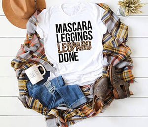 MASCARA LEGGINGS DONE TEE